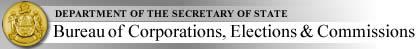 Bureau of Corporations, Elections & Commissions